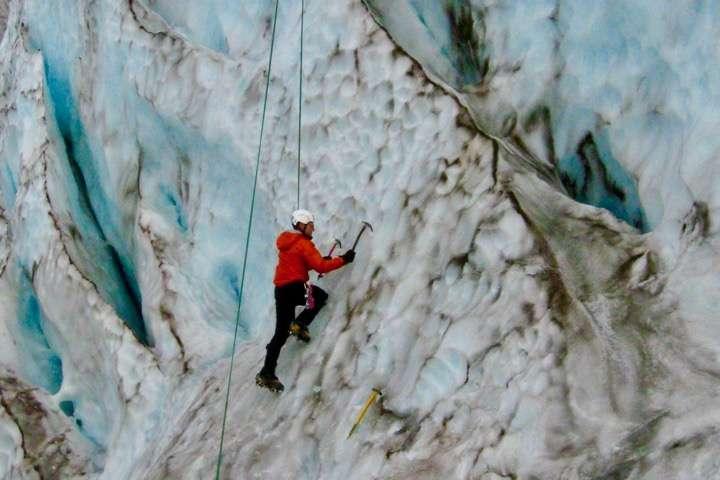 Ice Climbing- Mtn